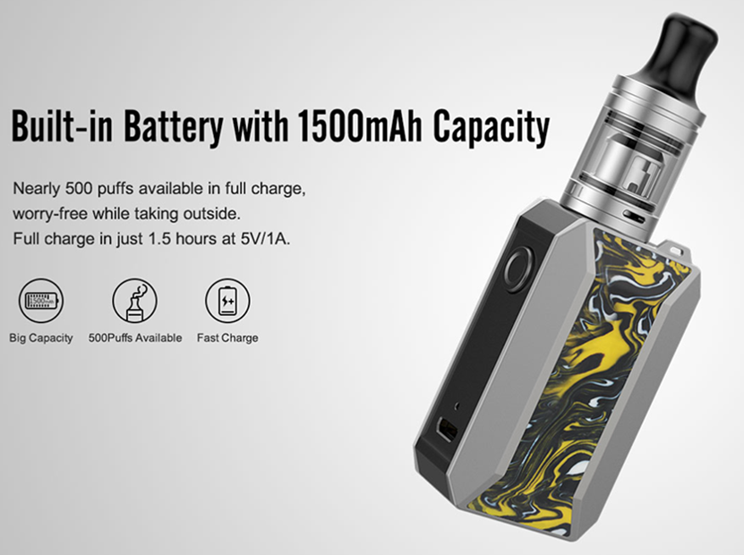 Drag Baby Kit 1500mAh Battery