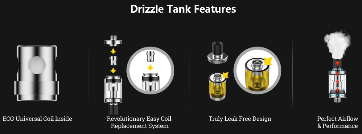 Vaporesso Drizzle Tank