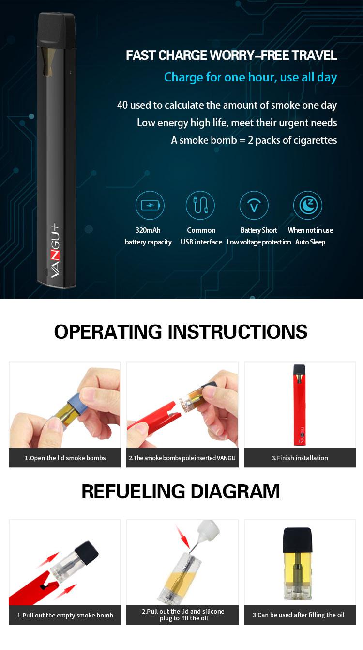 E-bossvape VANGU Vape Pen Kit 07