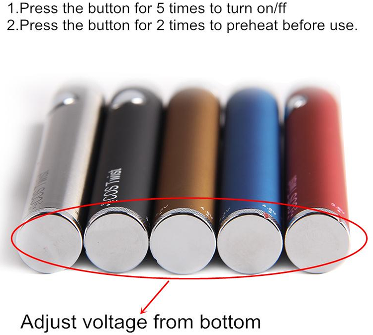 ECT COS Twist Battery Voltage