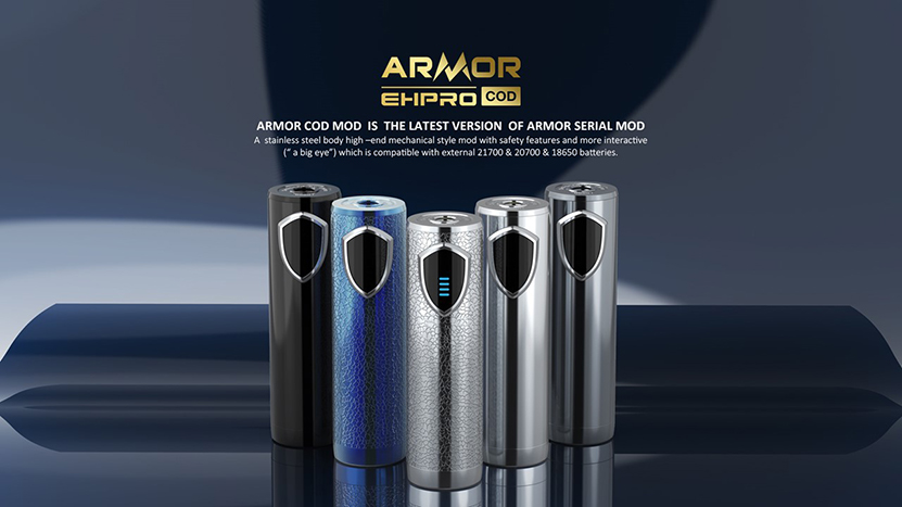 Ehpro Armor COD 21700 Semi-Mech Mod