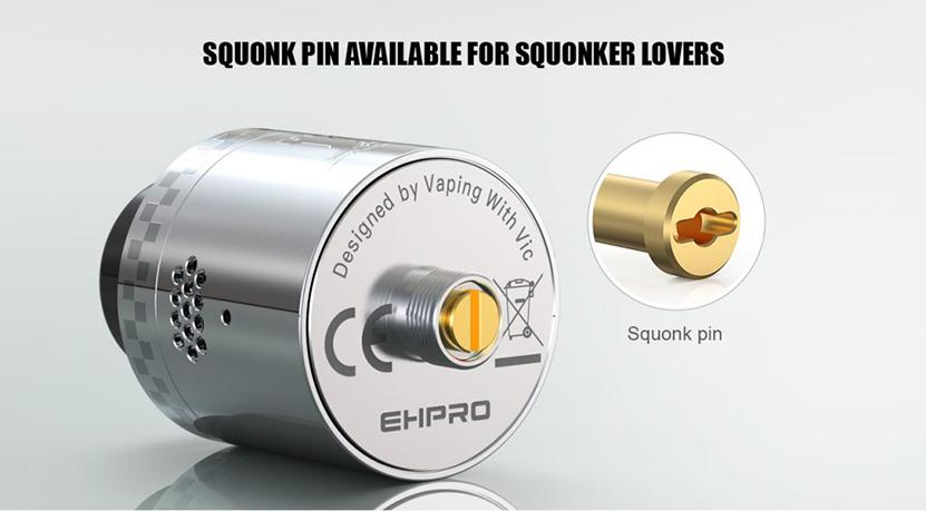 Kelpie RDA Atomizer Squonk Pin