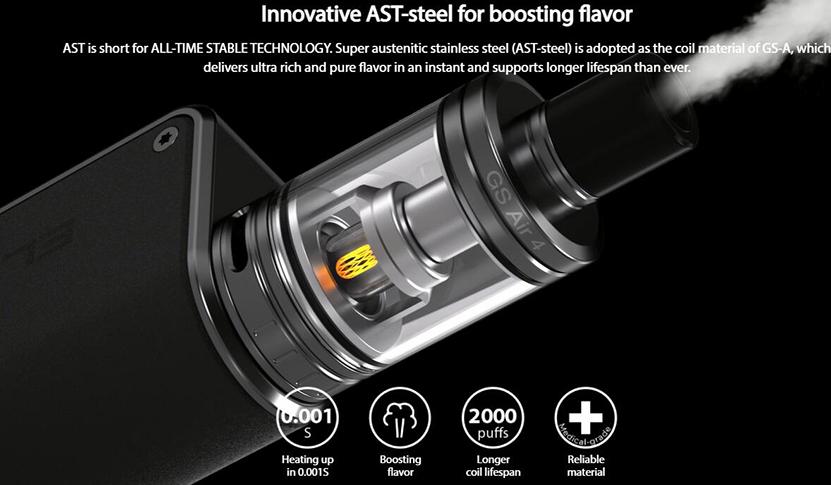 Eleaf GS Air 4 Tank Feature 1