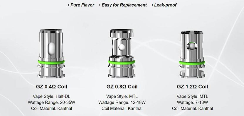 Eleaf GZeno S Tank Feature 5