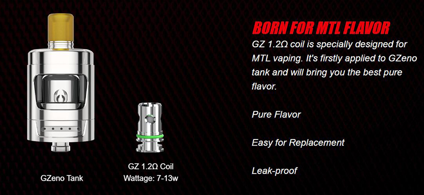 Eleaf GZeno Atomizer Feature 2