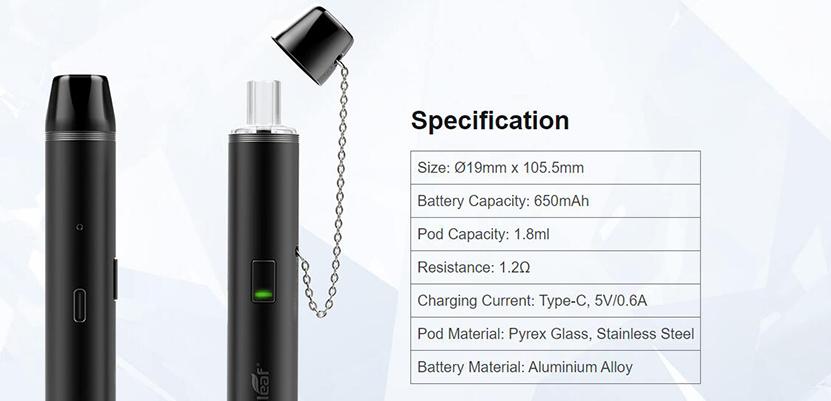 Eleaf Glass Pen Kit Feature 11