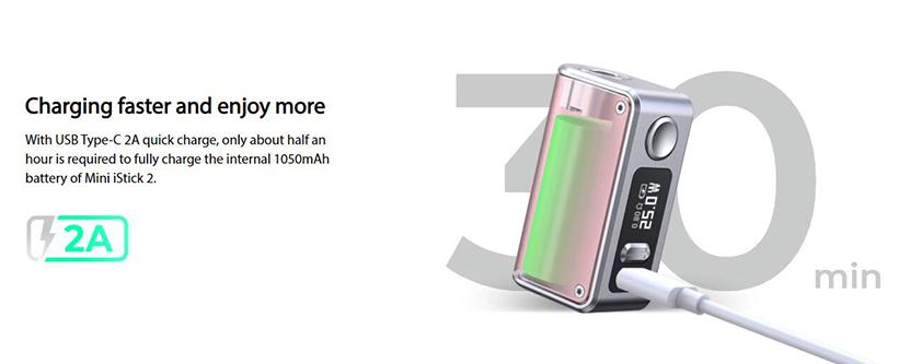 Eleaf Mini iStick 2 Mod Feature 1