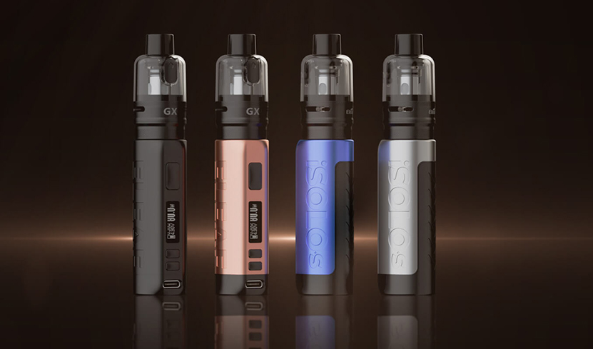 Eleaf iSolo S Kit with GX Tank Colors