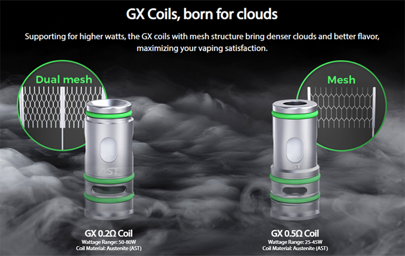 Eleaf iSolo S Kit with GX Tank GX Coil
