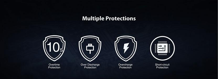 Eleaf iStick P100 Pod Kit Protections