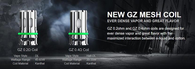 Eleaf iStick P100 Cartridge GZ Coils