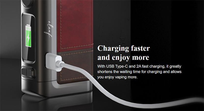 Eleaf iStick Power 2C Kit charge