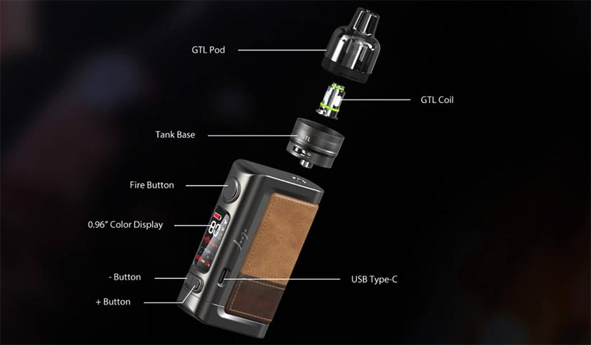Eleaf iStick Power 2C Kit component