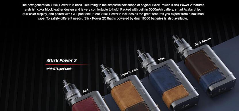 Eleaf iStick Power 2 Mod Feature 4