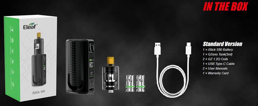 Eleaf iStick S80 Kit Package