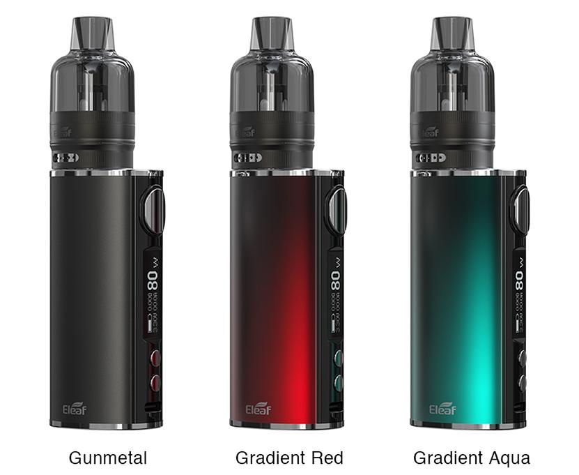 Eleaf iStick T80 with GTL Pod Tank Kit Colors