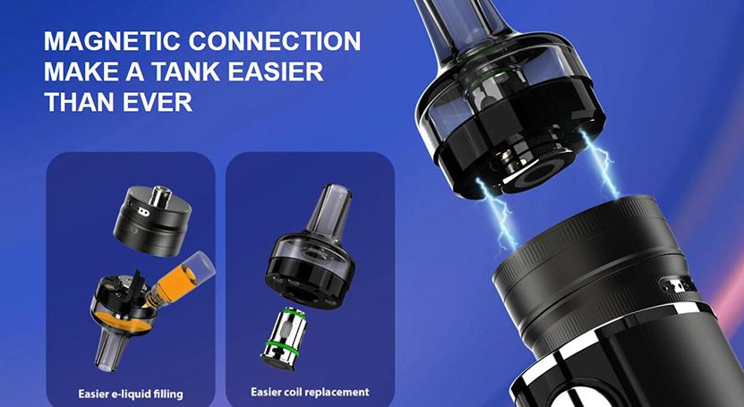 Eleaf iStick T80 with GTL Pod Tank Kit Feature 4