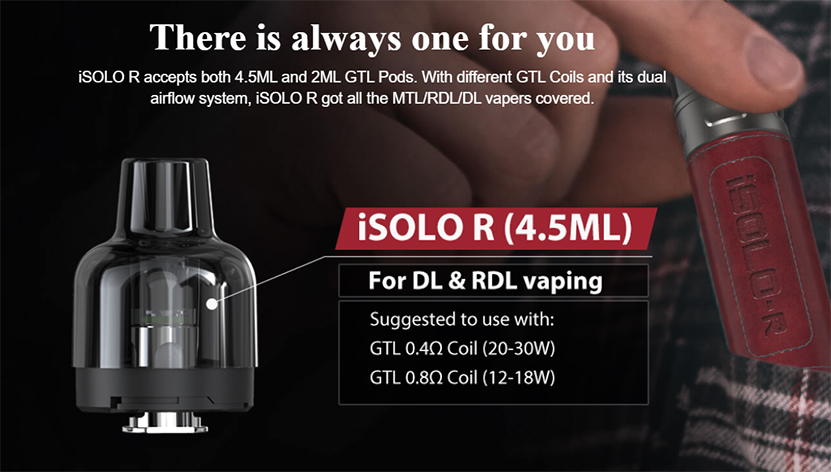 iSolo R Kit feature7