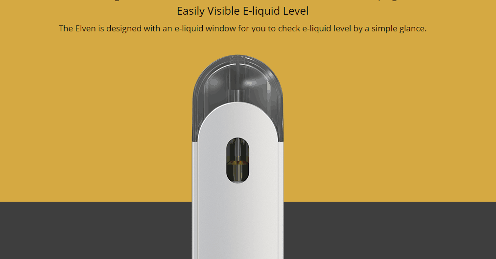 Eleaf Elven Pod Kit Features 08