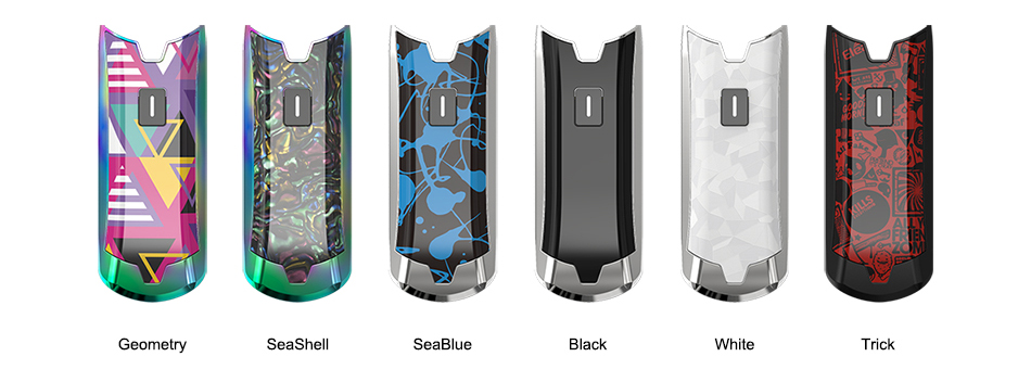 Eleaf Tance Max Pod Battery Colors
