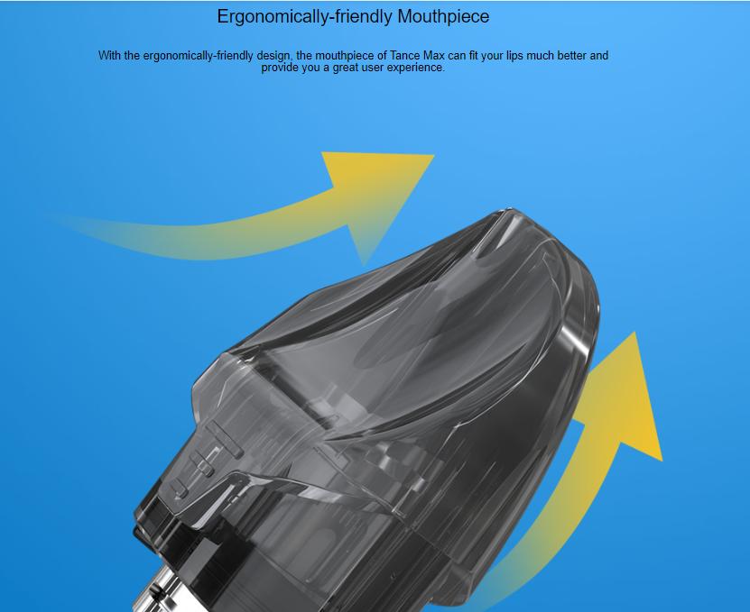 Eleaf Tance Max Pod Cartridg Ergonomically-friendly