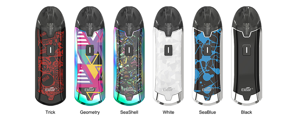 Eleaf Tance Max Pod System Colors