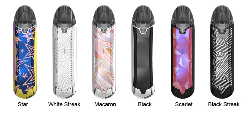 Eleaf Tance Pod System Colors