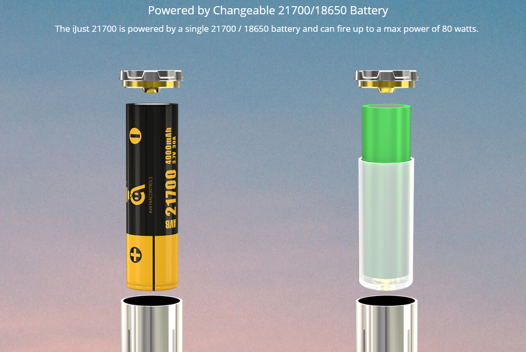 Eleaf iJust 21700 Battery