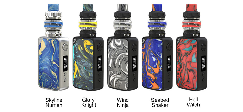 Eleaf iStick Mix Kit Colors