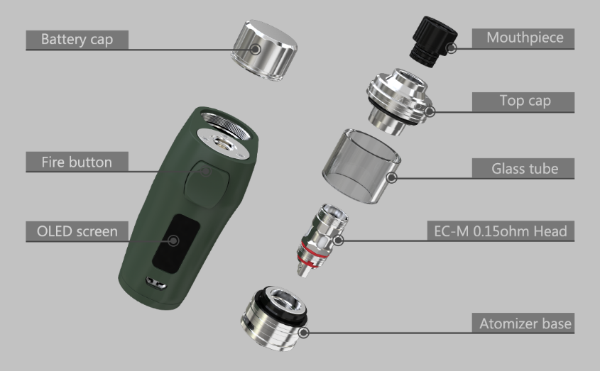 Eleaf iStick Pico X Kit Features 2