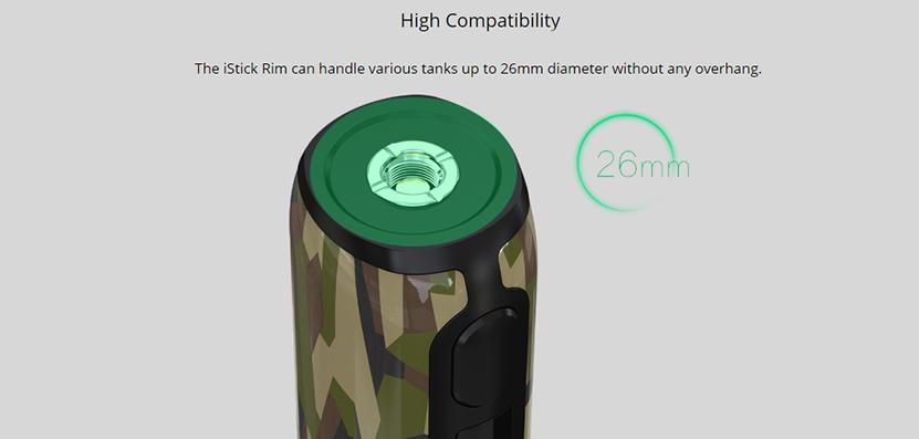 Eleaf iStick Rim Mod Features 09