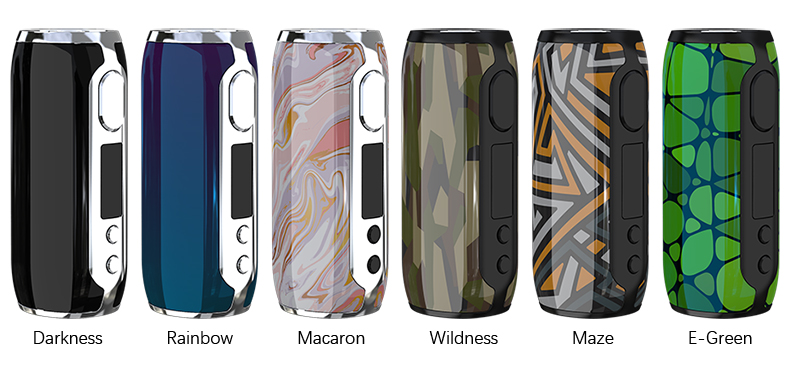 Eleaf iStick Rim Box Mod Colors