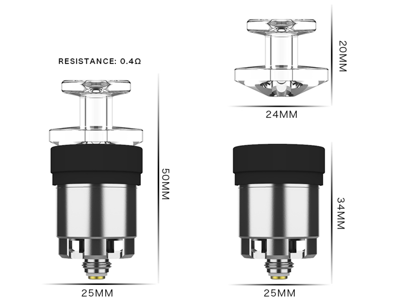 Exseed Dabcool W2 V2 Atomizer Feature 6