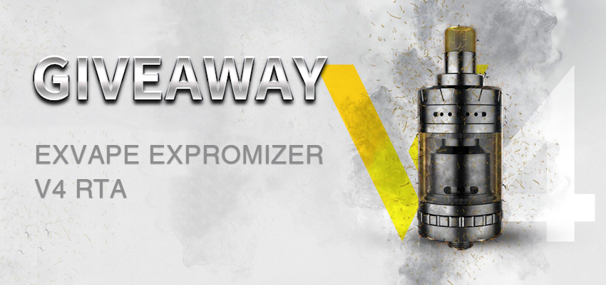 Exvape Expromizer V4 RTA Giveaway
