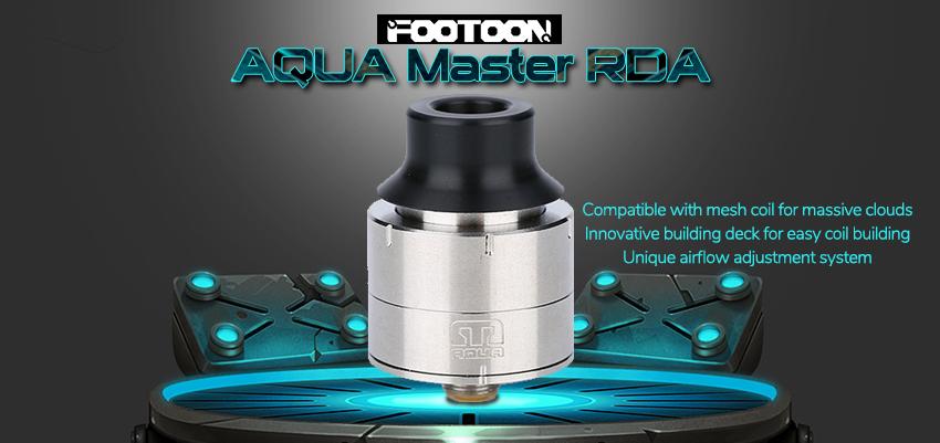 Footoon Aqua Master RDA Banner