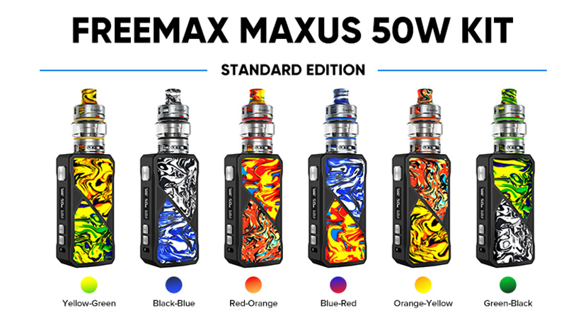 FreeMax Maxus 50W Kit description