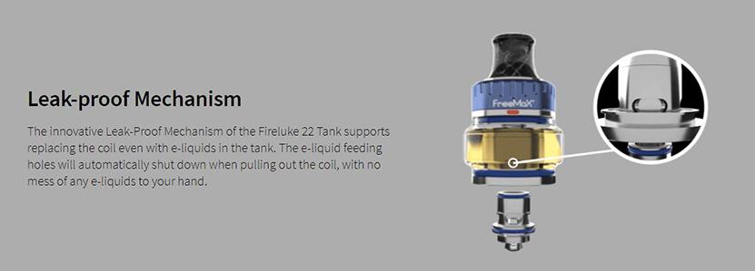 Freemax Fireluke 22 Tank Feature 3