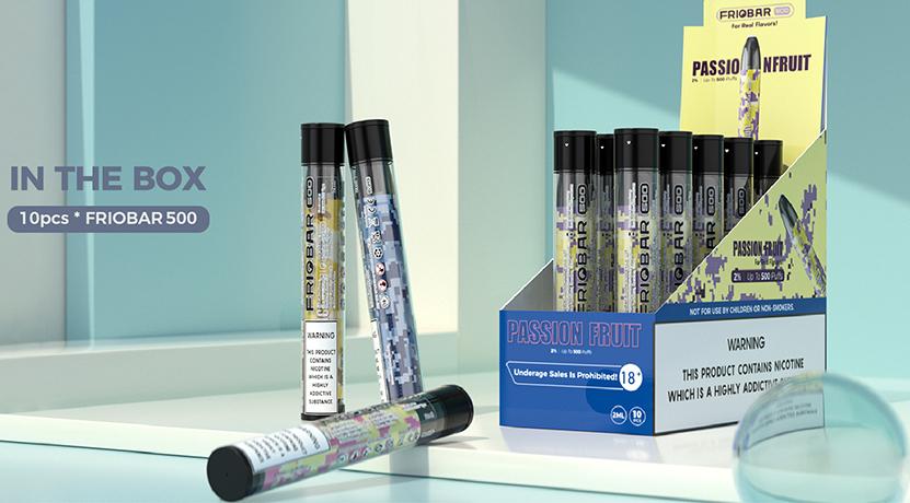 Freemax Friobar 500 Disposable Kit Feature 2