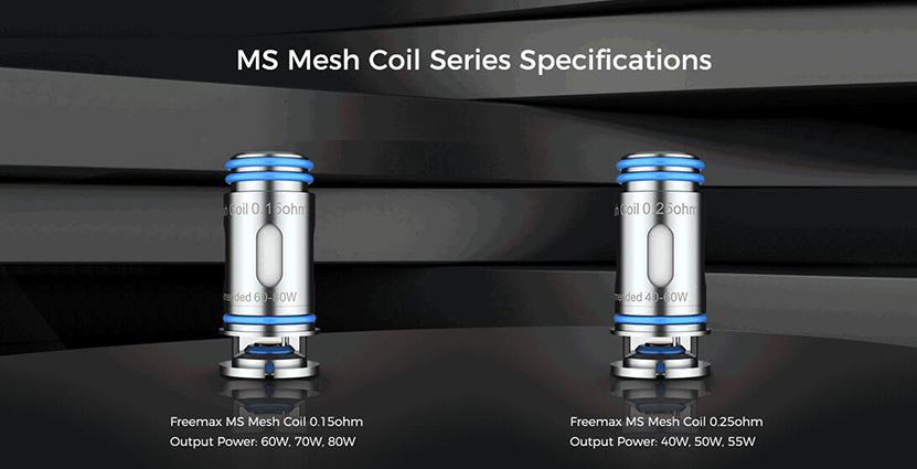 Freemax MS Mesh Coil Details