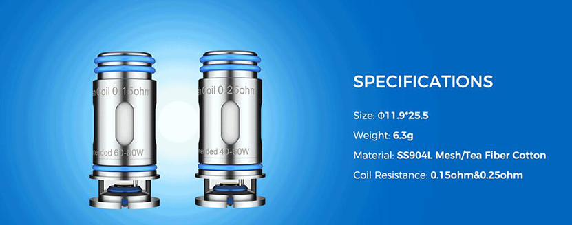 Marvos Replacement Coil Specification
