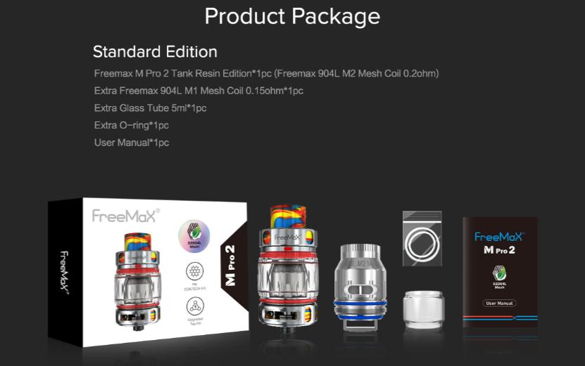 M Pro 2 Mesh Tank Package