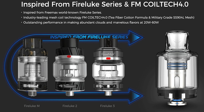 Freemax Marvos 60W Kit Feature 5