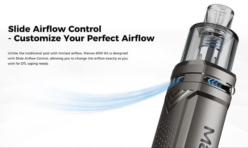 Freemax Marvos 80W Kit Airflow