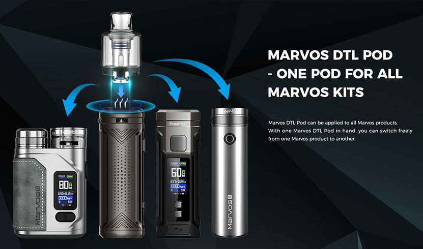 Freemax Marvos 80W Kit DTL Pod