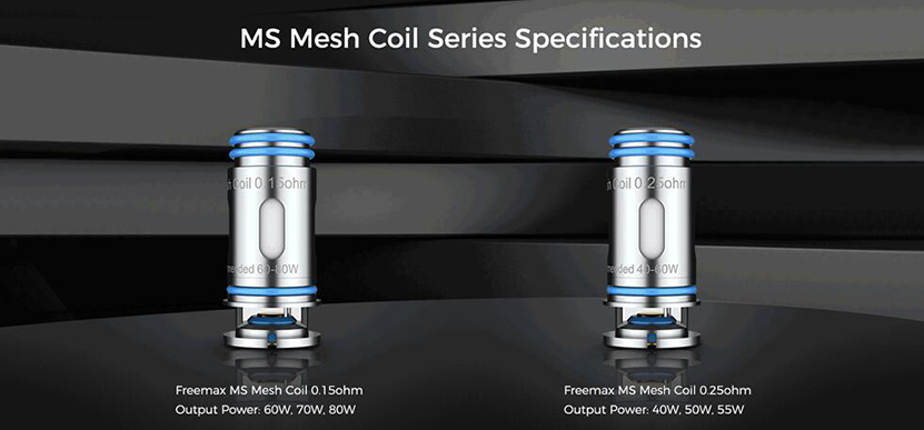 Marvos DTL Pod Cartridge MS Mesh Coil