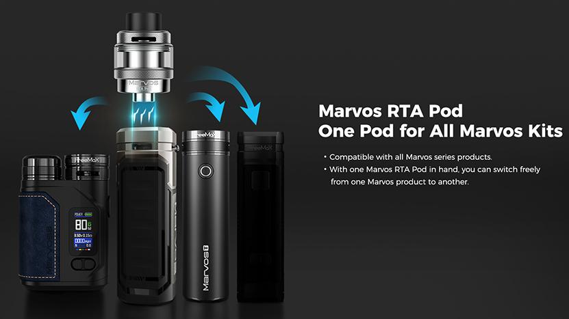 Freemax Marvos RTA Pod Feature 5