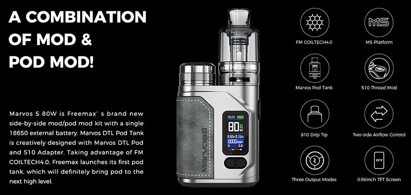 Freemax Marvos S 80W Kit Feature 6