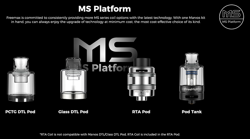 Freemax Marvos S 80W Kit Feature 9
