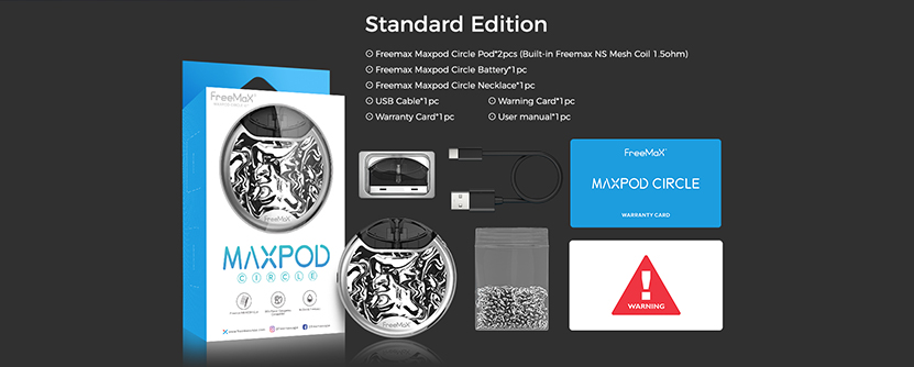 Freemax Maxpod Circle Kit Package