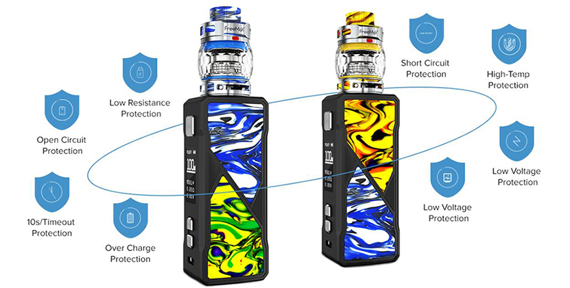 Freemax Maxus 100W Kit Feature 6